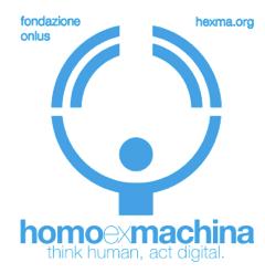logo homo ex machina